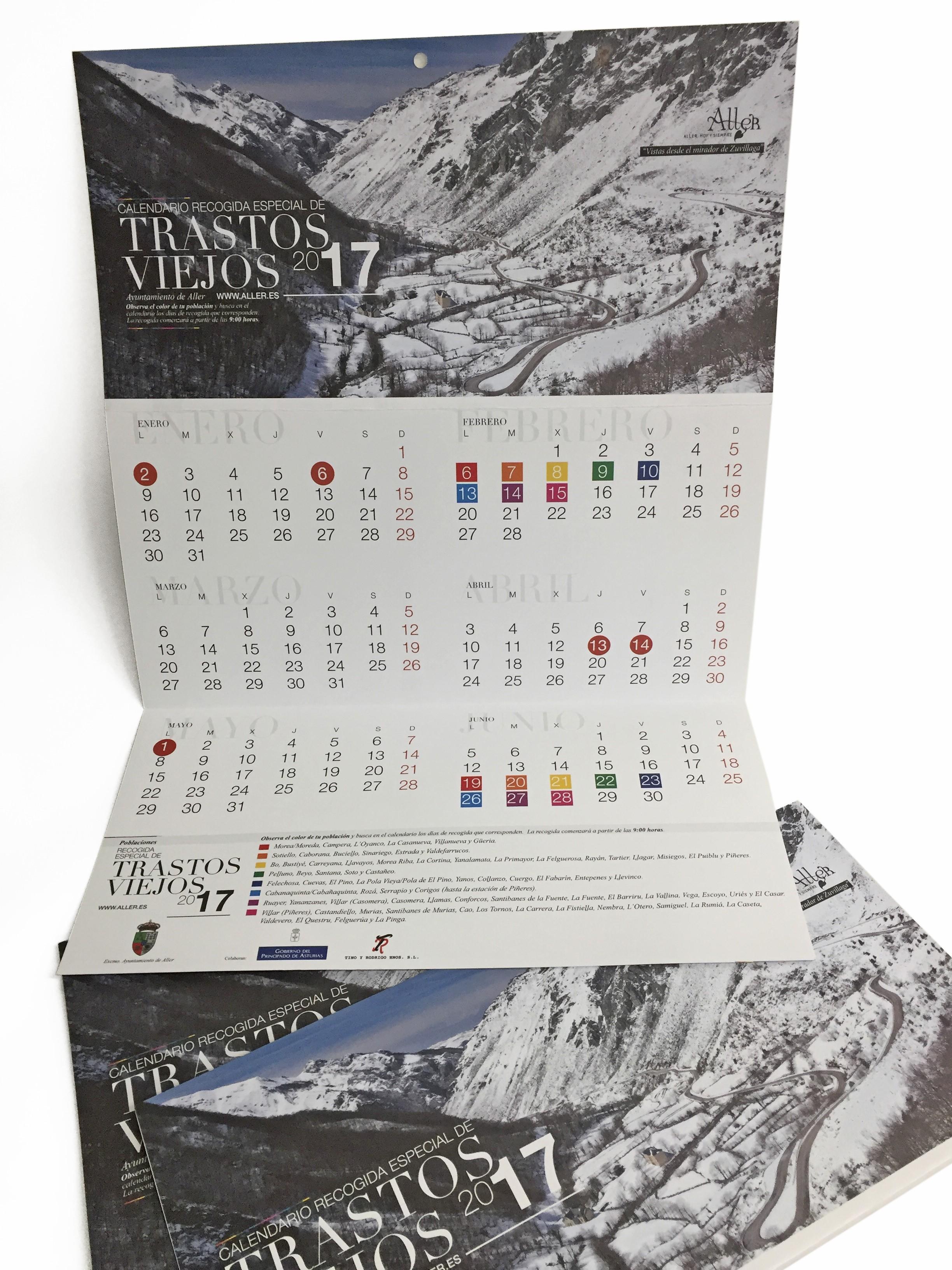 calendario recogida especial