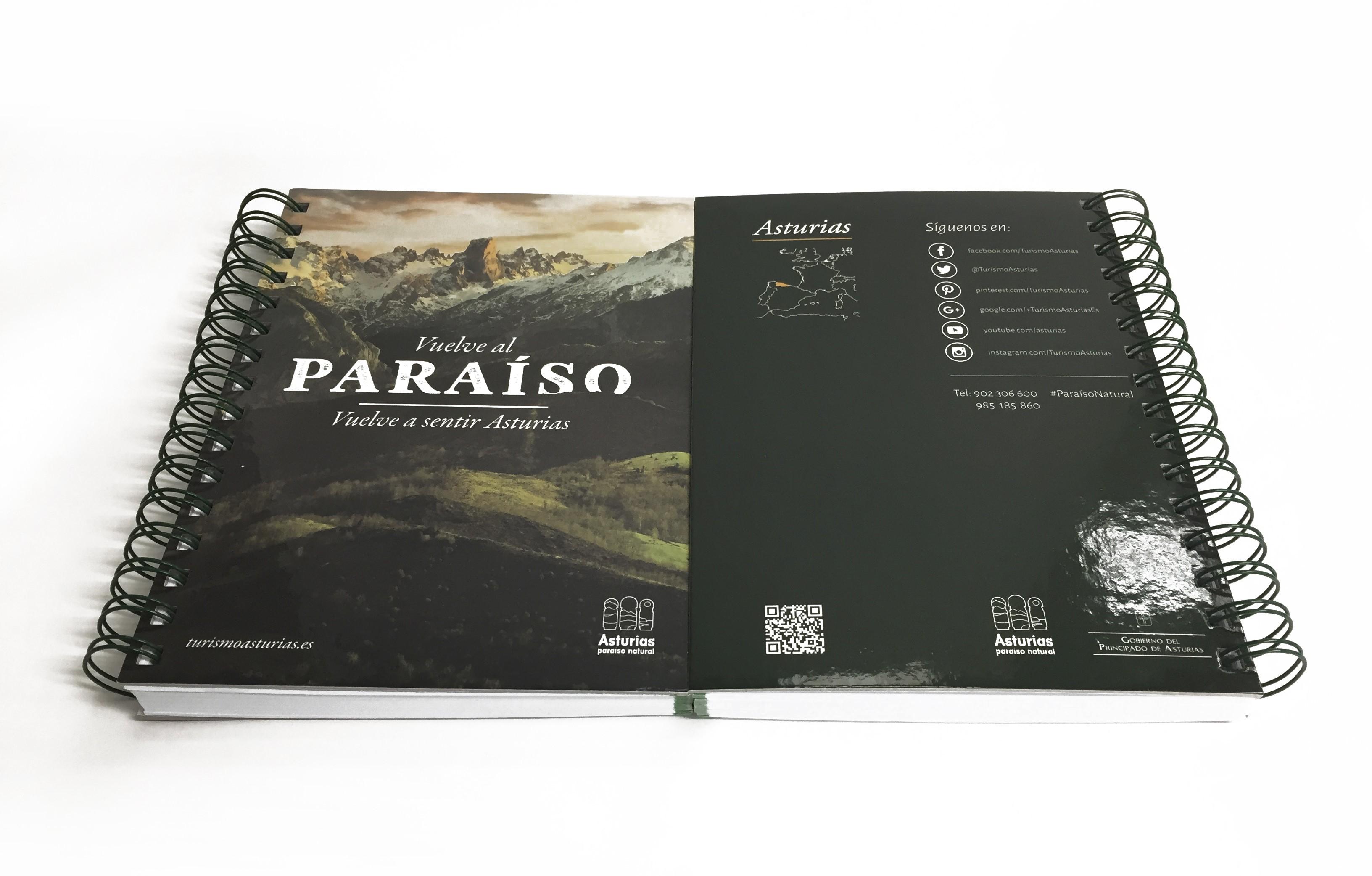 libreta asturias vuelve al paraiso